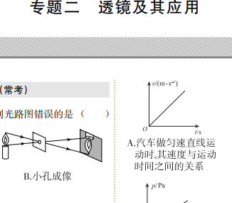 近三年中考真题-透镜专题.pdf