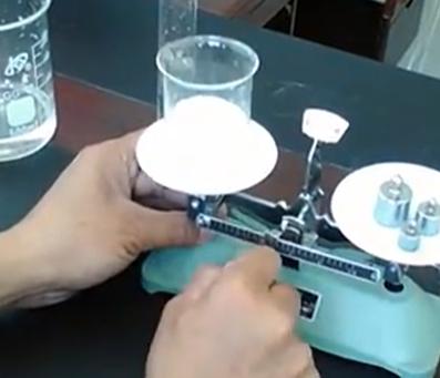 初中物理实验操作——测盐水密度